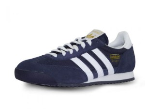 chaussure-adidas-dragon-coloris-bleu-et-marquage-or