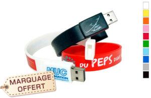 Clé USB personnalisée bracelet
