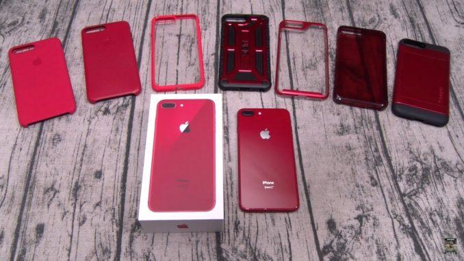 iPhone 8 Plus et ses accessoires