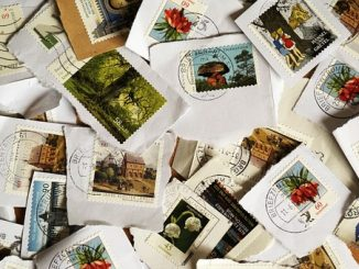 la collection de timbres